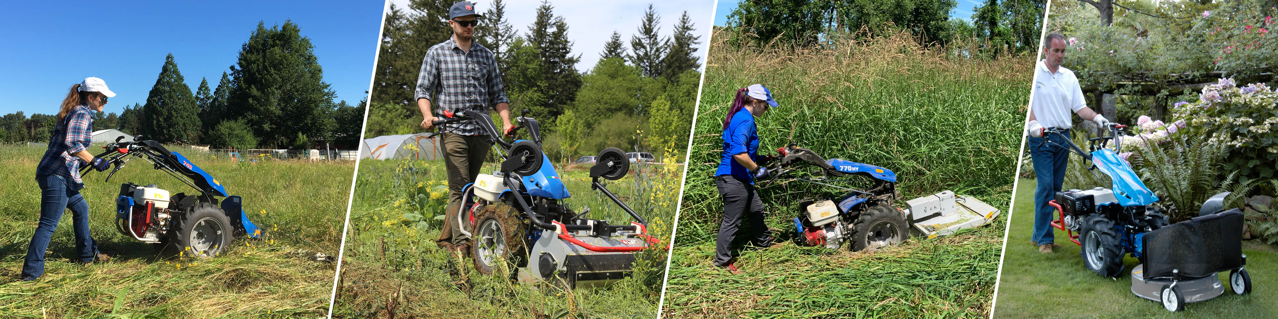 Two-Wheel Tractors Can Mow Anywhere