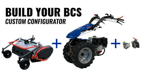 Build Your BCS with our new Custom Configurator