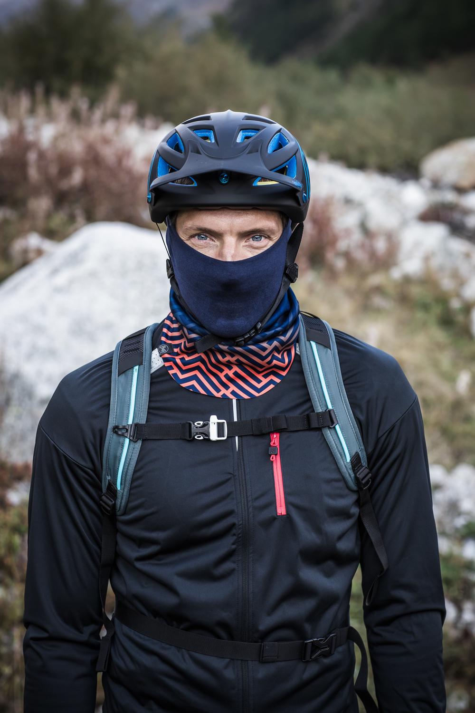 winter road cycling BUFF neckwarmer