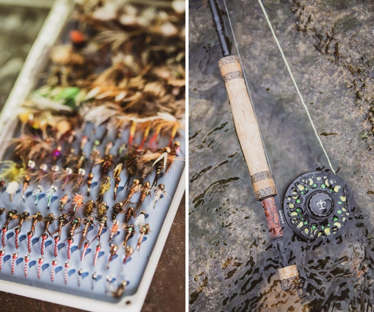 Fly Rod and Fly Fishing Flies
