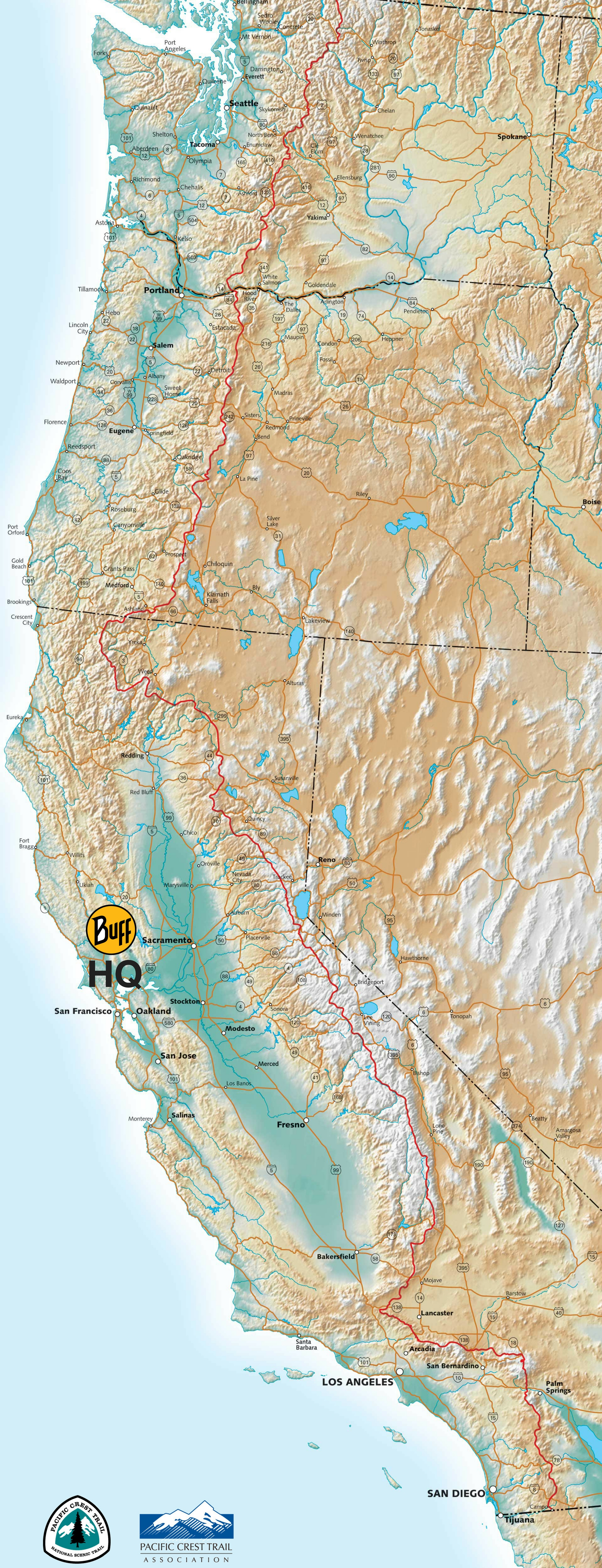 2017 Pacific Crest Trail Clean Up