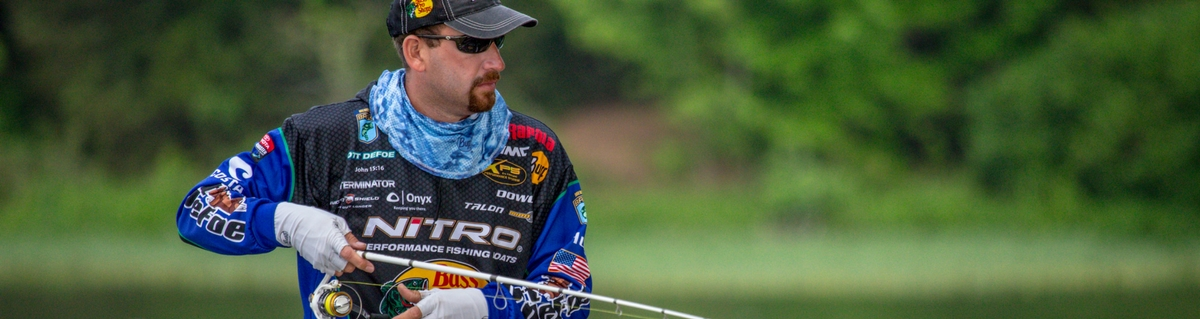 Pro Angler Ott DeFoe talks BUFF® Sun Protection [video]