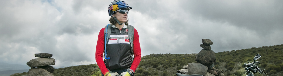 Rebecca Rusch Climbs Mount Kilimanjaro on a Bicycle