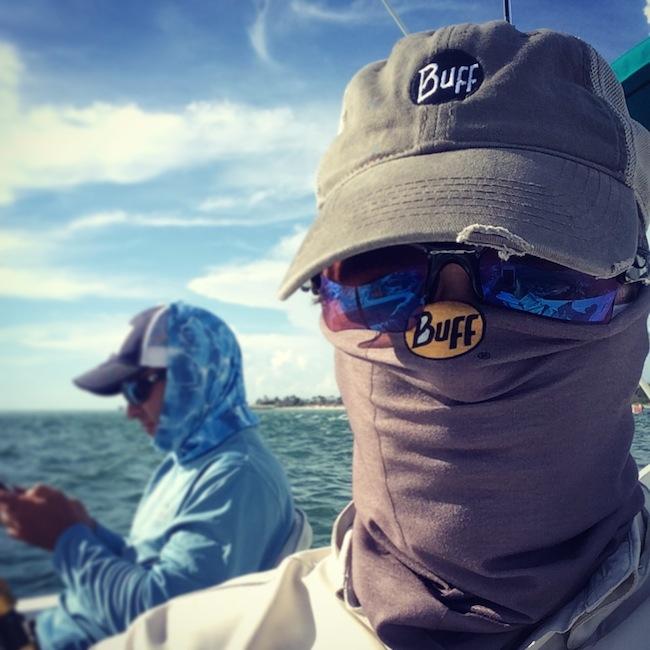 Tarpon Fishing on Boca Grande with Team BUFF® USA dd121dfcb