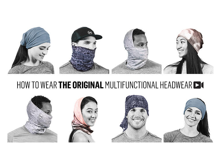 how to wear buff multifunctional headwear