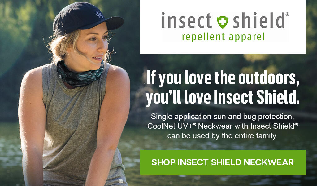 Protection from bugs - Insect Shield