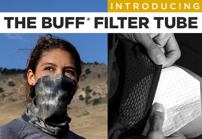 BUFF FIlter Tube and Mask