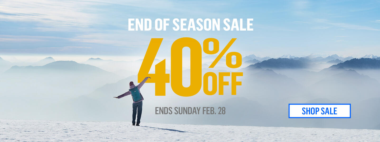 shop the winter sale 40% off