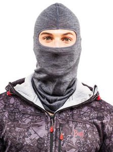 Lightweight Merino Wool Balaclava Black