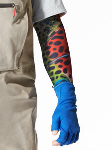 UV Arm Sleeves Fishing Brown Trout (set of 2)