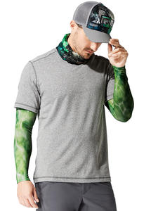 UV Insect Shield Arm Sleeves Bug Slinger BS Water Camo Green (set of 2)