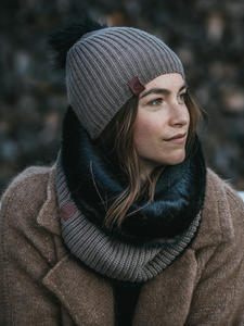 Adalwolf Hat Brown Taupe