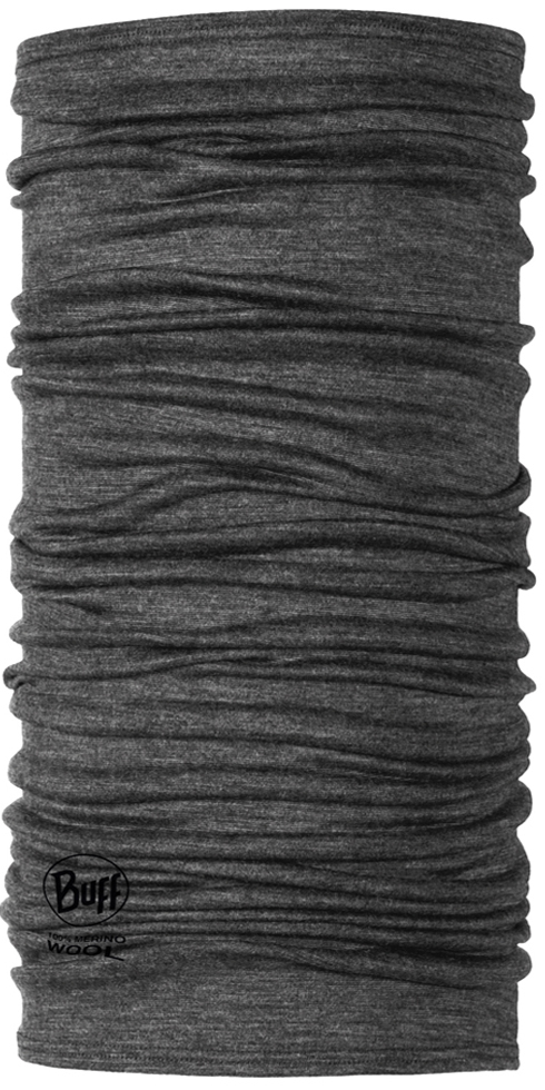 Lightweight Merino Wool Grey