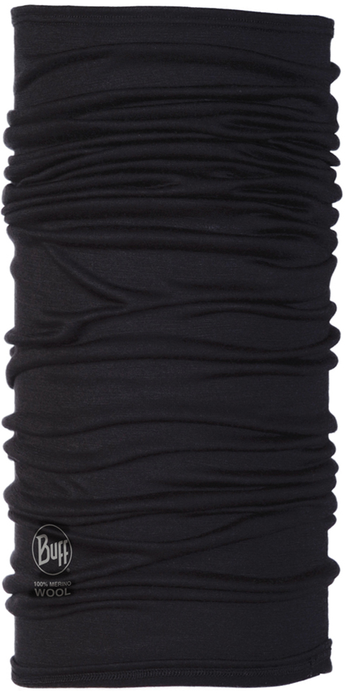 Lightweight Merino Wool Black