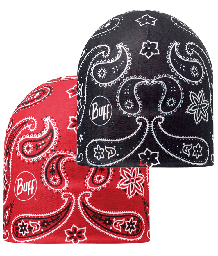 Microfiber Reversible Hat Cashemere Red-Black
