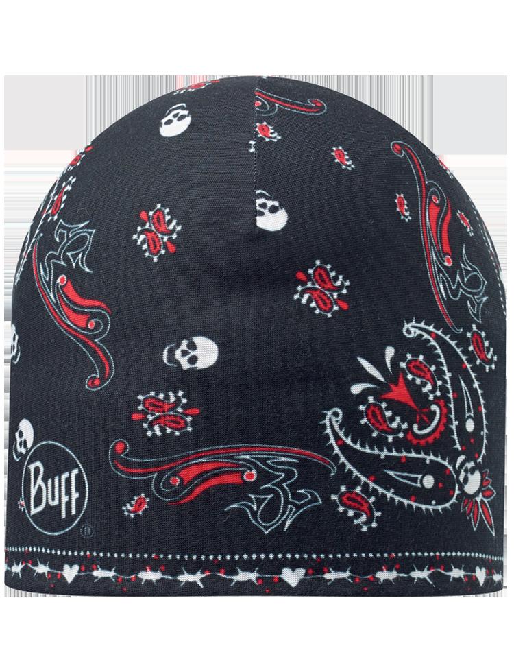 Microfiber Polar Hat Skullcash Black  949d7590e8c