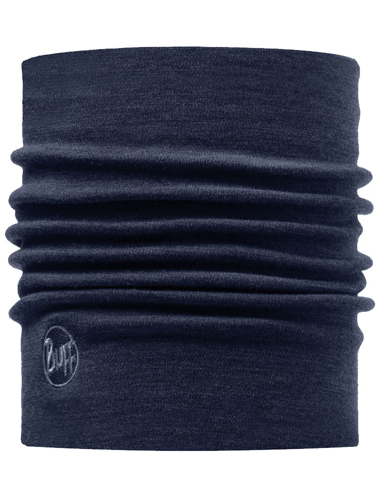 Heavyweight Merino Wool Neckwarmer Denim