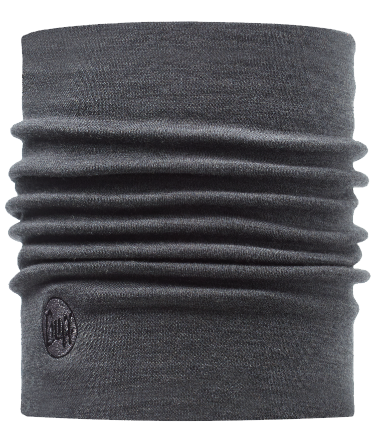 Merino Wool Thermal Neckwarmer Grey