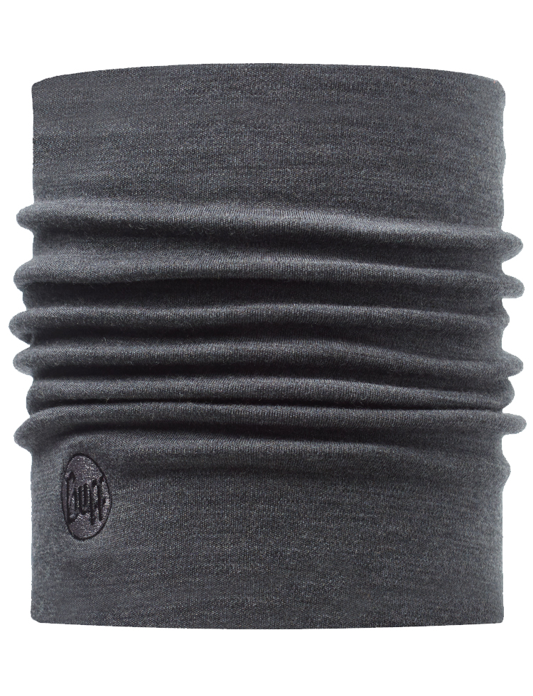Heavyweight Merino Wool Neckwarmer Grey