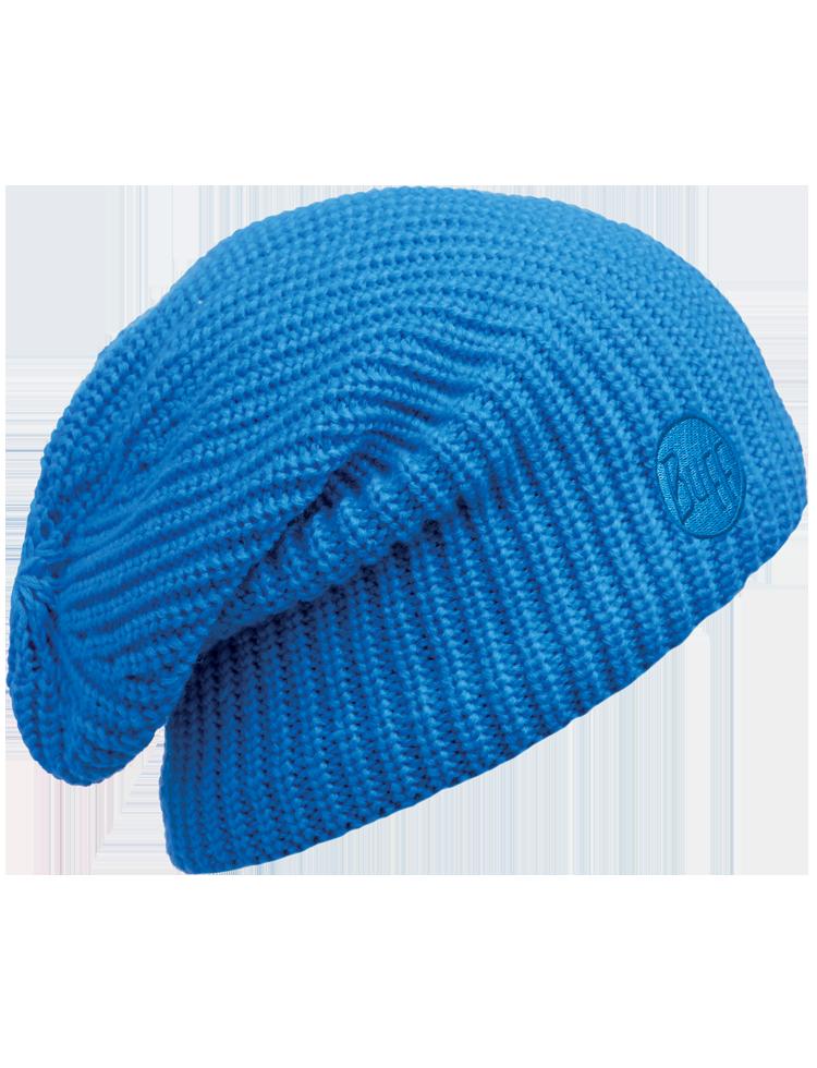 Knitted   Polar Slouchy Hat Drip Blue  5cc94c2e950