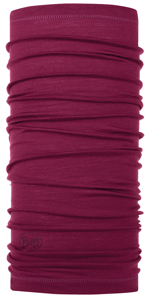 Lightweight Merino Wool Purple Raspberry