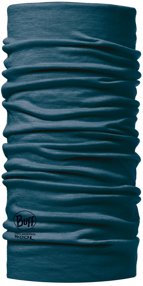 Merino Wool BUFF Seaport Blue