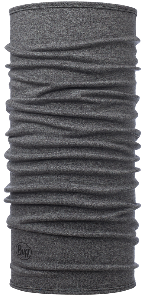 Midweight Merino Wool - Light Grey Melange