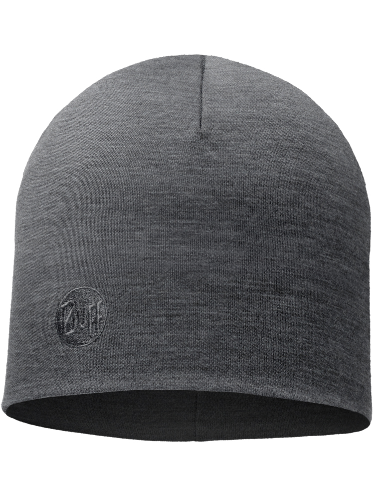 Heavyweight Merino Wool Hat Grey