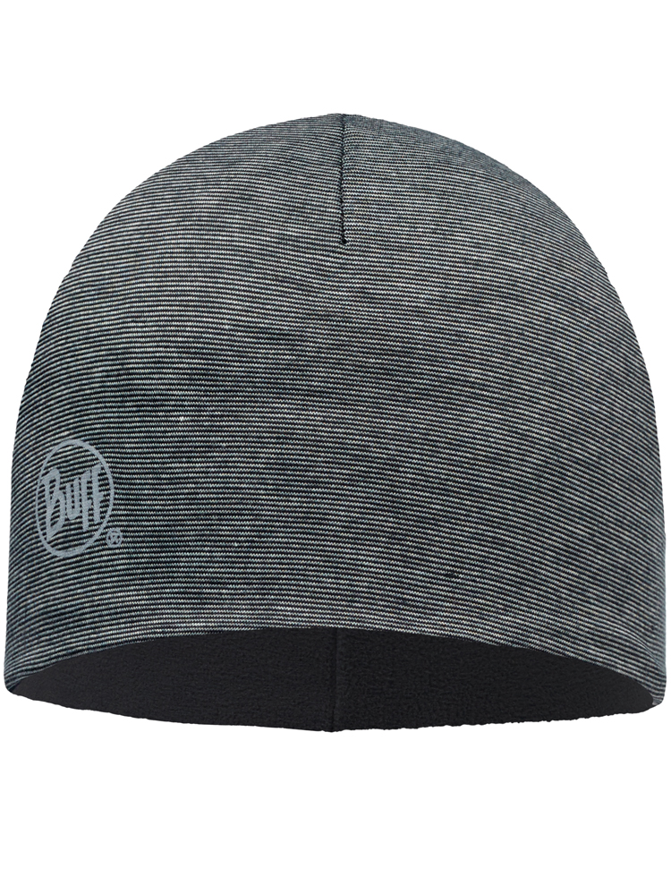 Microfiber Polar Hat Grey Stripes