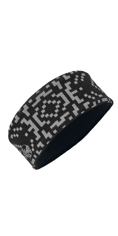 Knit Headband Whistler Black