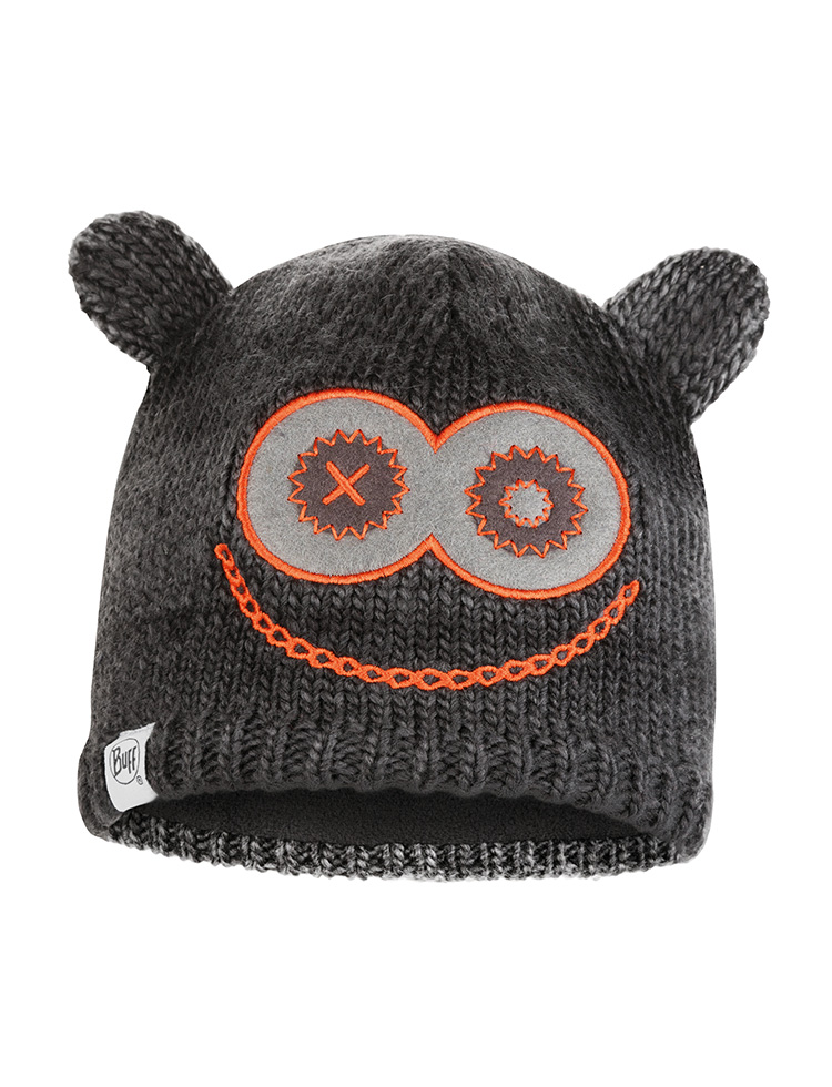Child Knitted & Polar Hat Monster Jolly Black