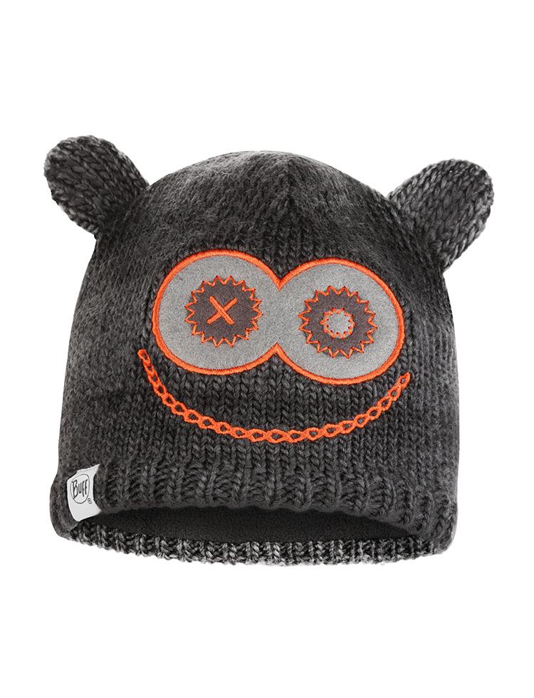 Child Knitted Polar Hat Monster Jolly Black Official Site