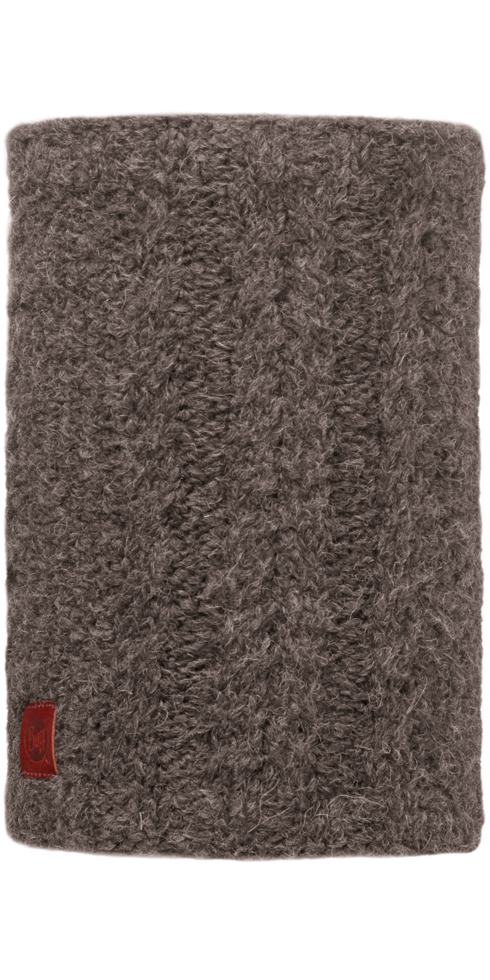 Knit Neckwarmer Amby Brown