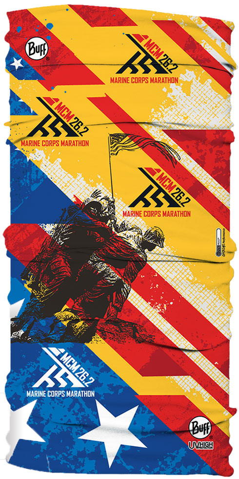 UV BUFF Marine Corps Marathon Red