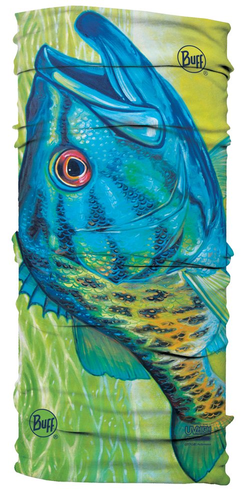 UV BUFF DeYoung DY Turquoise Smallmouth