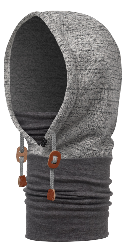 Polar Thermal Hoodie Melange Grey