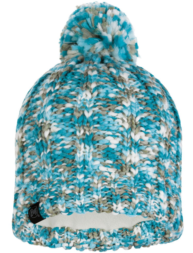 Knitted & Polar Hat Livy Aqua