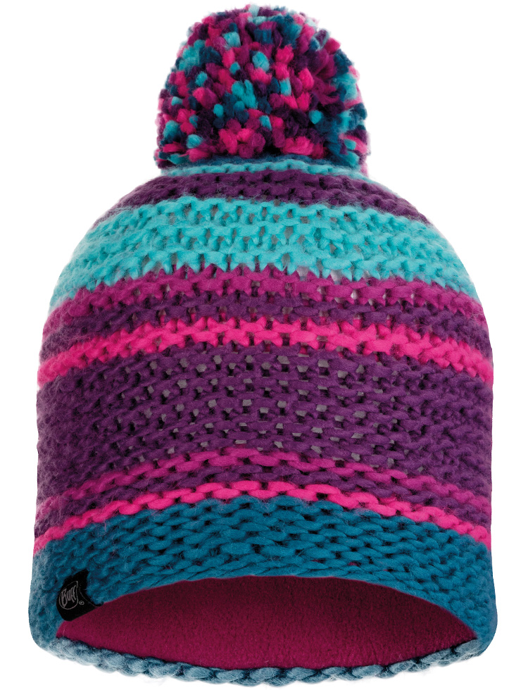 Knitted & Fleece Hat - Dorian Purple Imperial