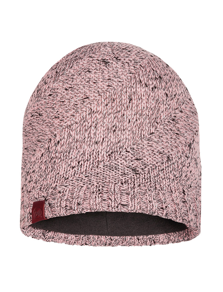 Knitted & Polar Hat Arne Pale Pink