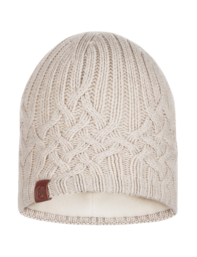 Knitted & Polar Hat Helle Cru