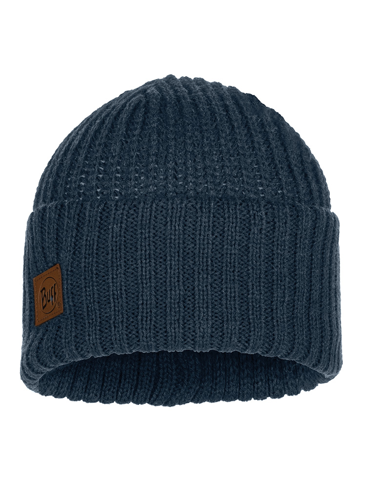 Knitted Hat Rutger Medieval Blue