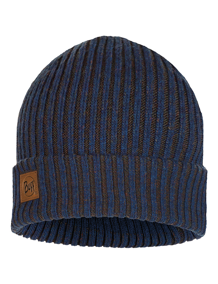 Knitted & Polar Hat Lars Night Blue