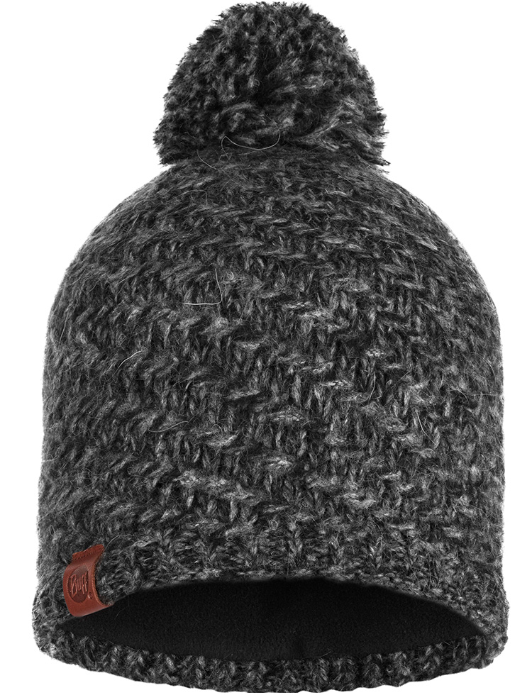 Knitted & Polar Hat Agna Black