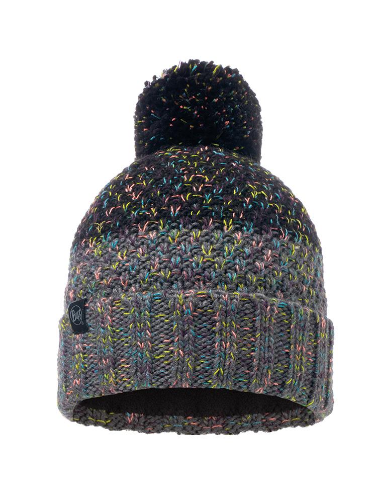 bf0e705b073 Knitted   Polar Hat Janna Black