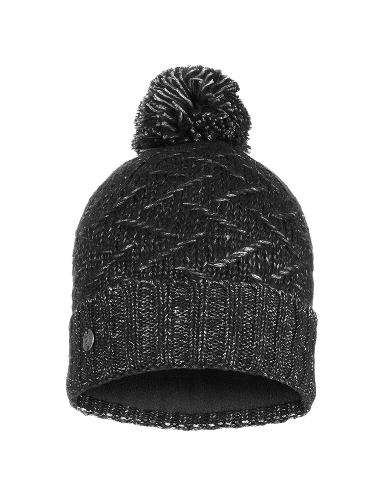 Knitted & Polar Hat Ebba Black
