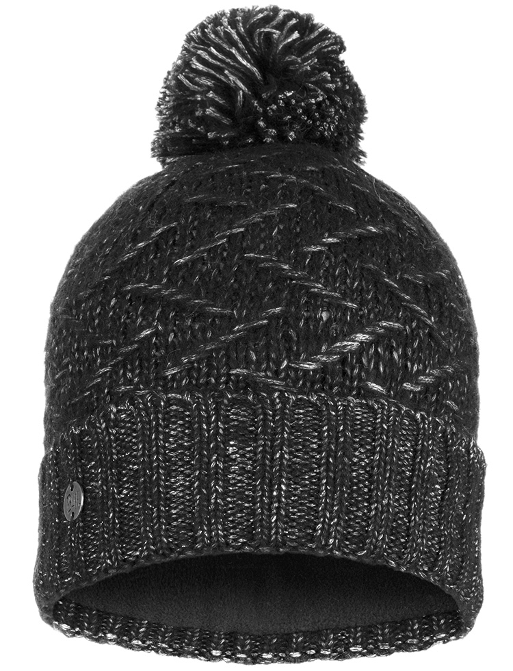 Knitted & Polar Hat - Ebba Black