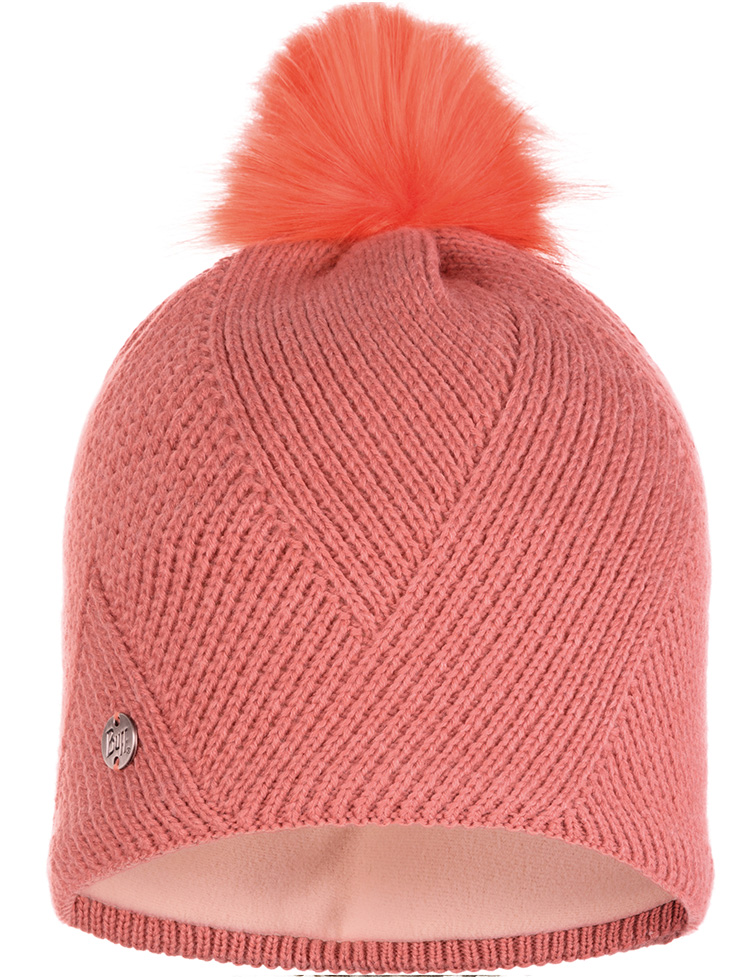 Knitted & Polar Hat Disa Peach