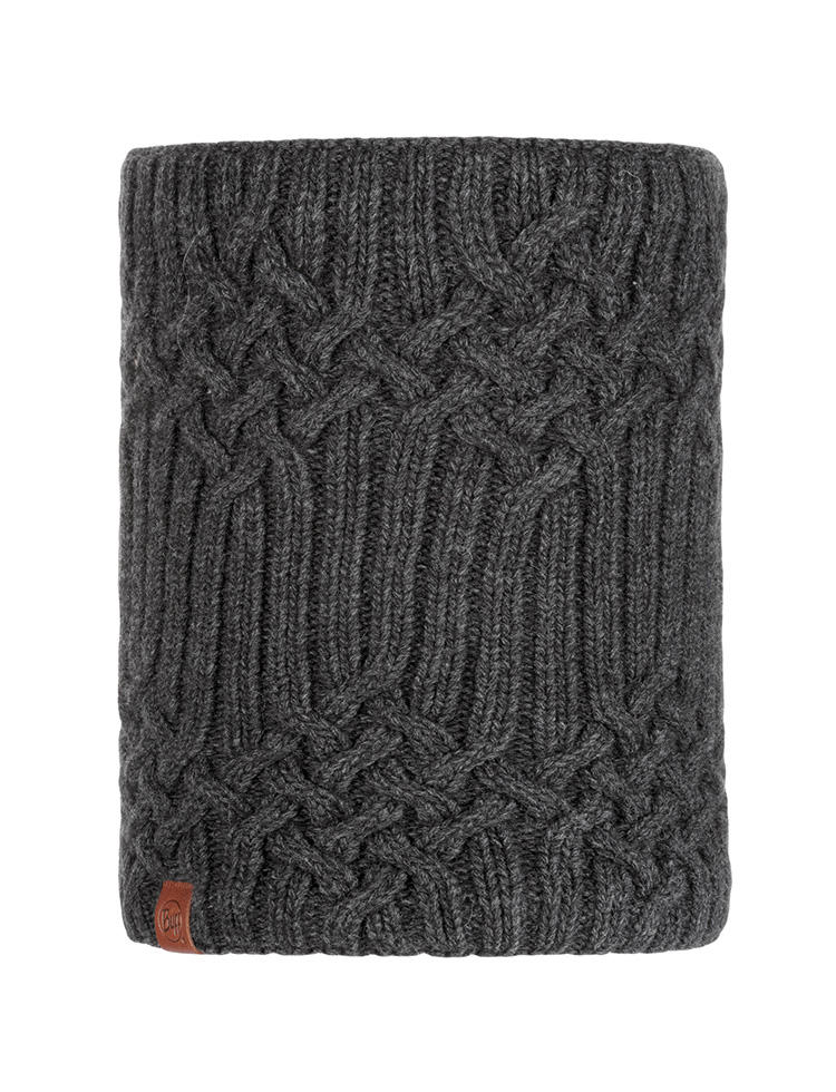 Knit Neckwarmer - Helle Graphite