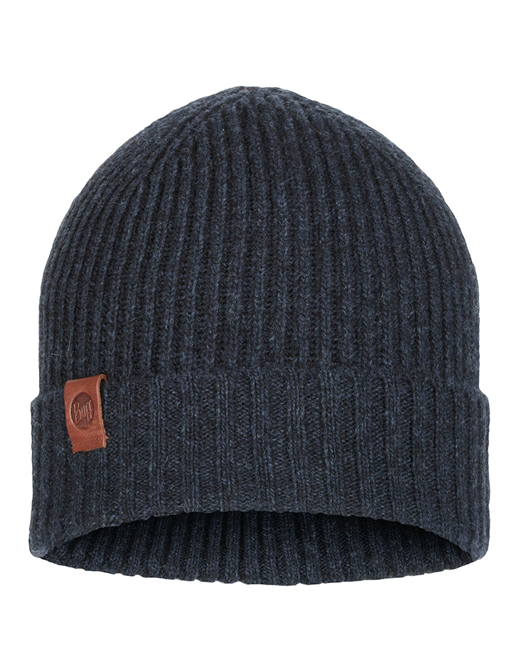Knitted Hat Biorn Dark Denim