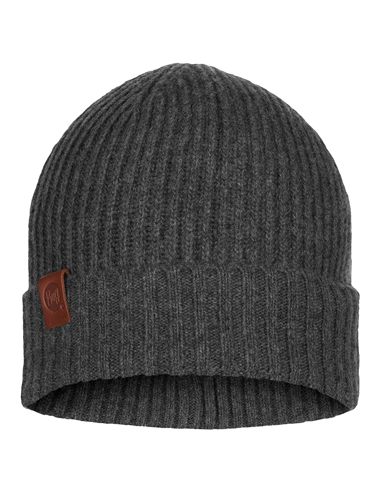 Knitted Hat Biorn Grey